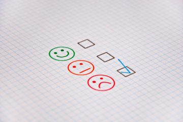 Good bad neutral feedback check boxes